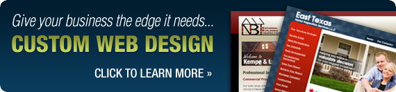 Custom Web Design - Click To Learn More